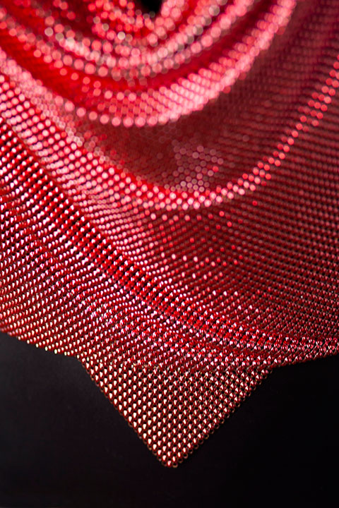 RW106 - Pink Halter Top Detail